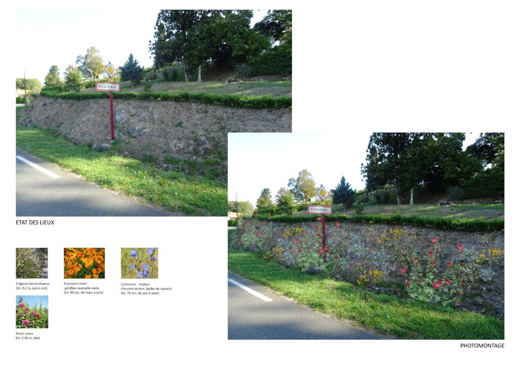 Augignac fleurit son village
