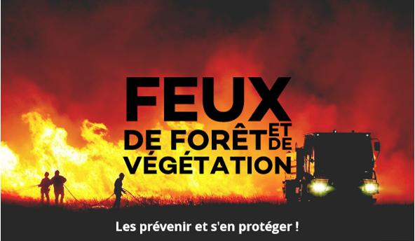 Contre les feux de forêt et de végétation, diffusons ensemble les bons comportements !